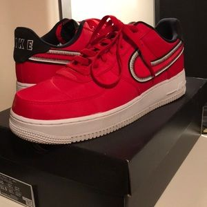 Air Force 1 Low Red